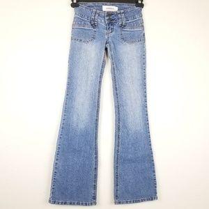 Hydraulic Jeans Flare Light Wash Sz 0